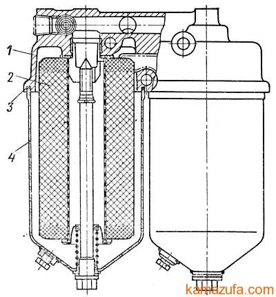 Полнопоточный фильтр очистки масла КамАЗ