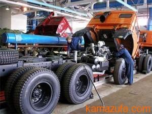 Обслуживание тормозной системы КамАЗ