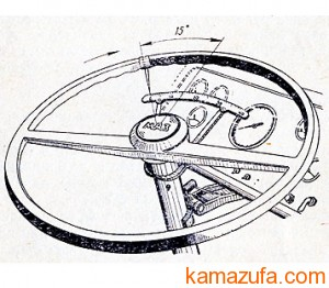 Проверка свободного хода рулевого колеса КамАЗ